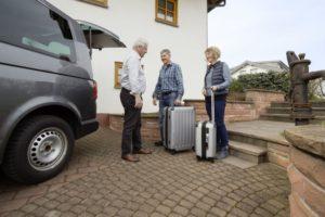 Haustürabholung 2017 2018 Haustüre Abholung Taxi