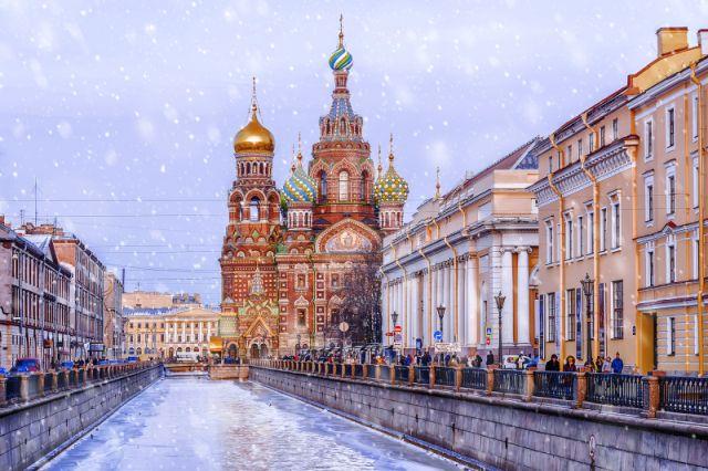 St. Petersburg Russland Aufersteherkirche
