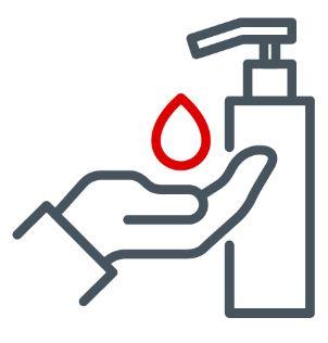 Icon Desinfektion Corona Covid 19