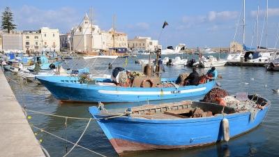 Trani - Hafen
