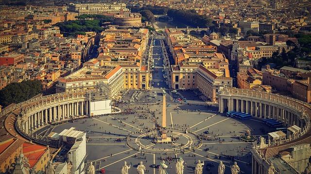 Rom Italien Städtereise Petersplatz Vatikan