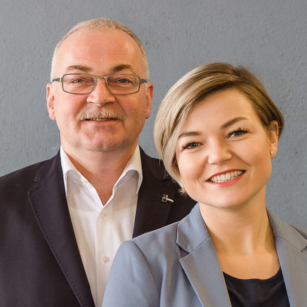 Roland und Lena Grimm
