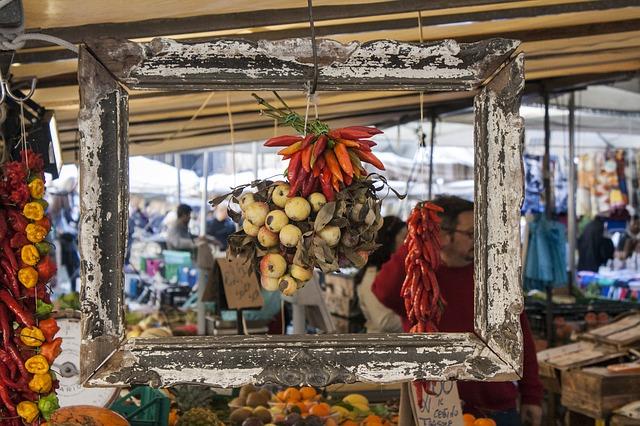 Markt in Italien